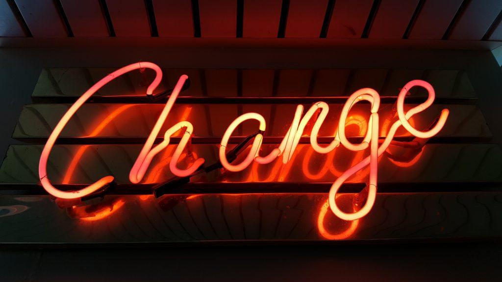 neon licht change